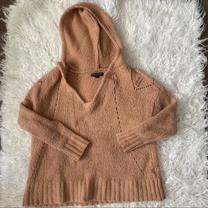 2 for 25 American  eagle deep V sweater XS tan